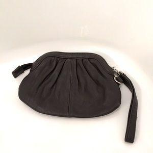EUC Leather Danier Wristlet